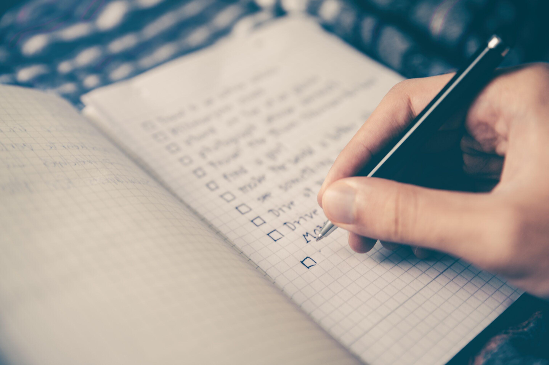 Deine To-do für heute: To-do Liste machen