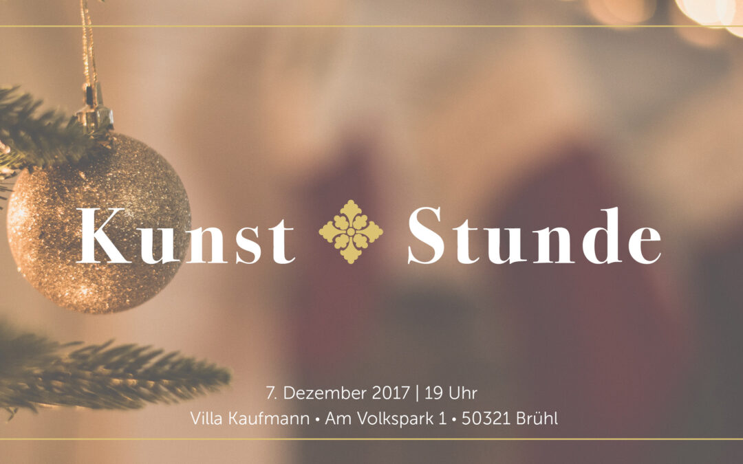 KunstStunde – Winteredition